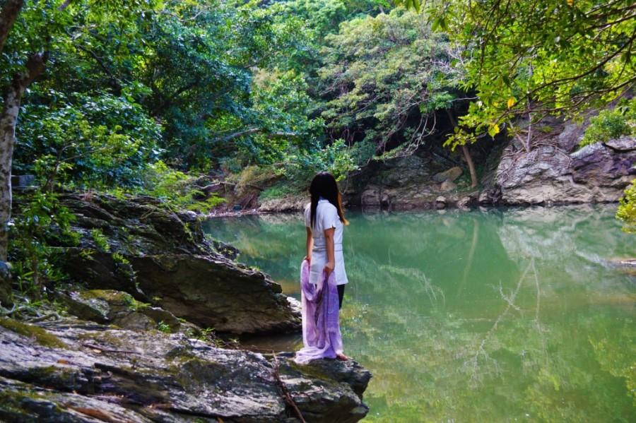 青龍神話の泉めぐり